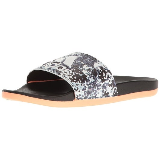 los angeles 39fc8 c94a8 Shop adidas Performance Womens Adilette CF+ GR W Athletic Sandal,  BlackWhiteSun Glow - Free Shipping Today - Overstock - 18278265