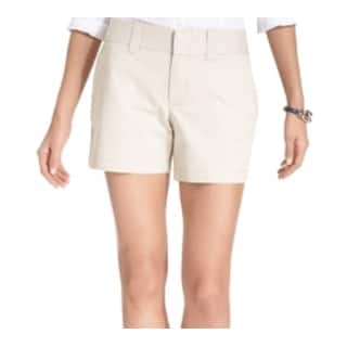 Tommy Hilfiger NEW Solid Beige Womens Size 16 Travel Khaki Chino Shorts|https://ak1.ostkcdn.com/images/products/is/images/direct/c27a81da964747507f9db0a4a8d0627def5f85b4/Tommy-Hilfiger-NEW-Solid-Beige-Womens-Size-16-Travel-Khaki-Chino-Shorts.jpg?impolicy=medium