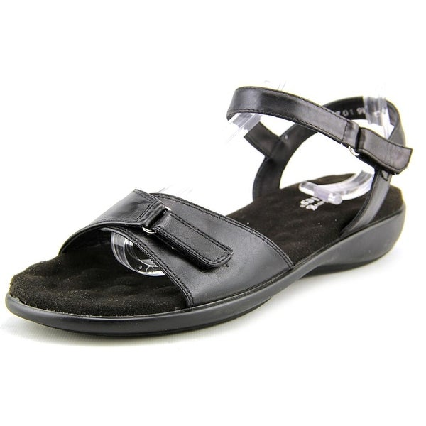 Walking Cradles Sky-3 Women Open-Toe Synthetic Black Sport Sandal