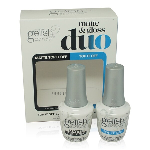 Gelish - Essentials -Matte And Gloss Duo