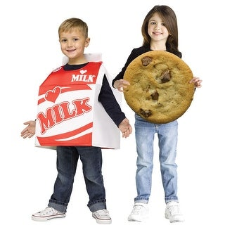 Toddler Couples Milk & Cookie Costume size 3T-4T