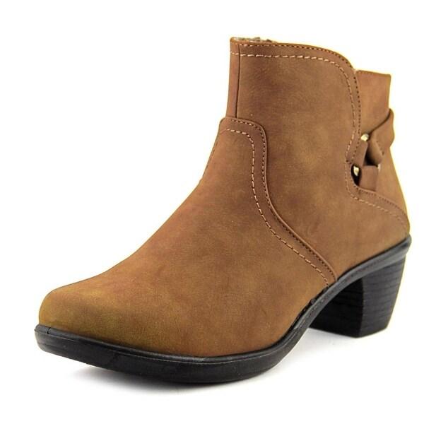 Easy Street Dawnta Brown Matte Boots