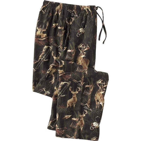 Legendary Whitetails Men's Cotton Legendary Whitetails Lounge Pants - Black