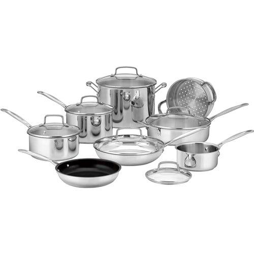 Cuisinart 14-Pc Stainless Cookware Set 14-Pc Cookware Set