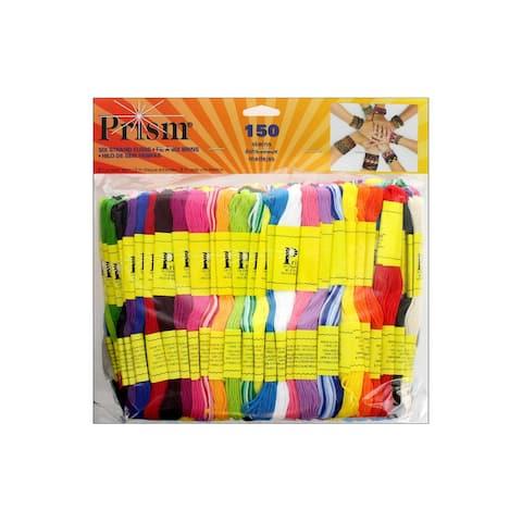 Prism Craft Floss Astd 150pc