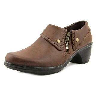 Easy Street Darcy Round Toe Synthetic Loafer