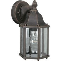 Forte Lighting 1742-01 Outdoor Wall Sconce from the Exterior Lighting Collection
