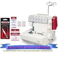 Janome 634D MyLock Serger with Exclusive Bonus Bundle