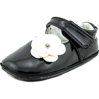 Jack and Lily Skyler Toddler Synthetic Black Moccasins