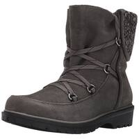 Bare Traps Womens Sharleen Leather Closed Toe Ankle Cold Weather Boots