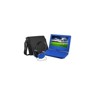 Ematic EPD909BU Ematic EPD909 Portable DVD Player - 9 Display - 640 x 234 - Blue - DVD-R, CD-R - JPEG - DVD Video, Video