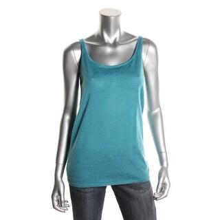 Eileen Fisher Womens Wool Sleeveless Tank Top Sweater - S