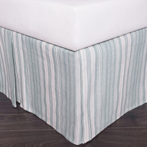 Cottage Home Adion 3 Piece Tuck In Bed Skirt