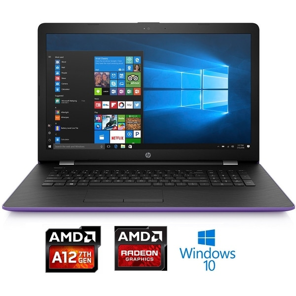 "HP 15-bw038 AMD A12-9720P 1TB HDD 15.6"" HD Notebook (Certified Refurbished)"