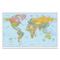 Advantus AVTRM528012754 Rand McNally World Wall Map