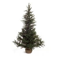 """48"""" Holiday Green LED Artificial Christmas Pine Tree"""