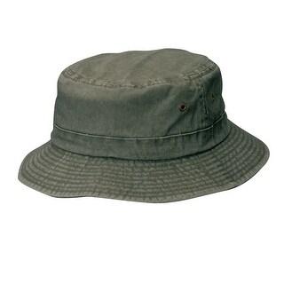 Dorfman Pacific Cotton Big and Tall Summer Bucket Hat 2XL 3XL