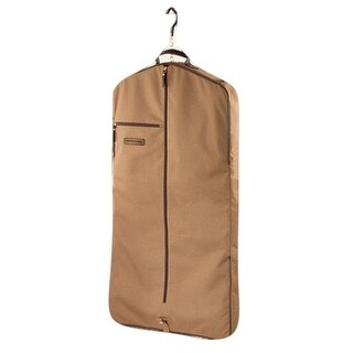 Noble Outfitters Garment Bag Signature Water Repellent Tobacco 80003