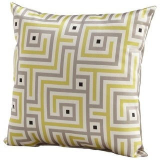 Cyan Design Maze Pillow Maze 18 x 18 Square Pillow