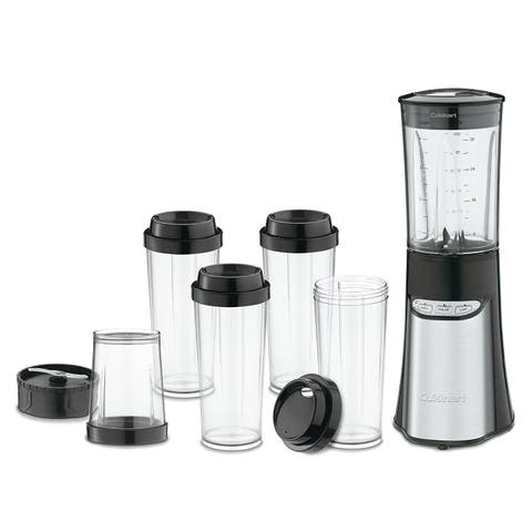 Cuisinart CPB-300 Compact Portable Blending/Chopping System, Brushed Stainless Steel