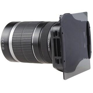 AGPtek 6pcs ND2 ND4 ND8 Gradual ND2 4 8 Filter Set + 9pcs Ring Adapter for Cokin P LF6