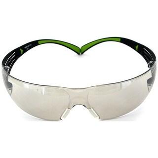 3M SF400M-WV-6 SecureFit 400 Safety Eyewear Glasses, Black/Green