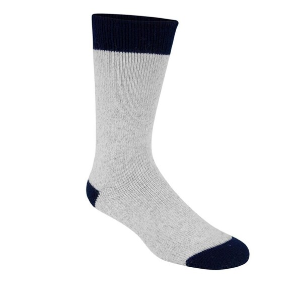 Wigwam Moose Socks, Sweatshirt Grey, MD (Men's 5-9.5