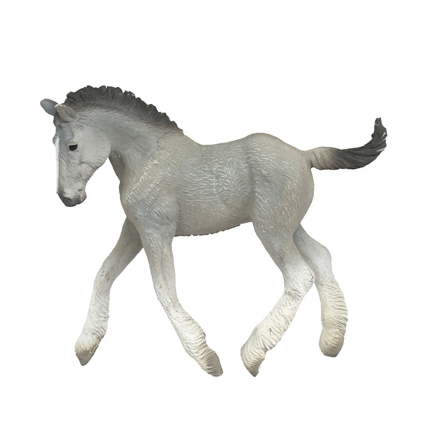 Breyer 1:18 Corral Pals Horse Collection: Grey Shire Horse Foal - multi
