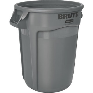 Rubbermaid Commercial 32Gal Plastic Trash Can