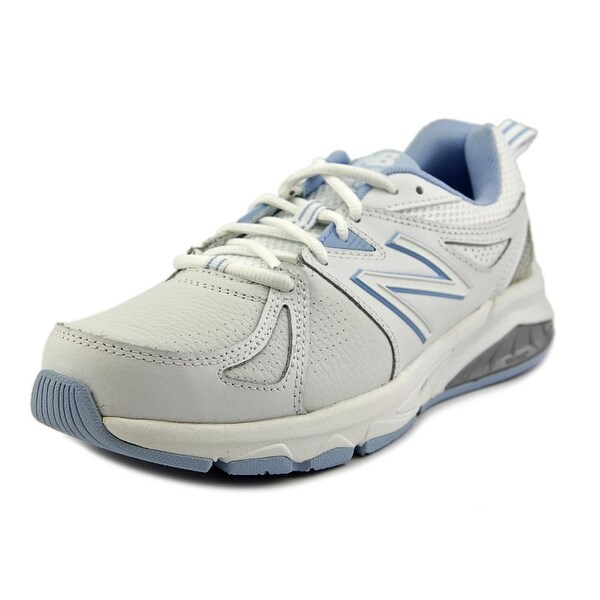 ... Womens' Athletic Shoes. New Balance WX857 2E Round Toe Leather Cross  Training