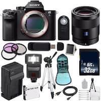 Sony Alpha a7S II a7S Mark II a7SII ILCE7SM2/B Mirrorless Digital Camera (International Model no Warranty) 6AVE Bundle 92