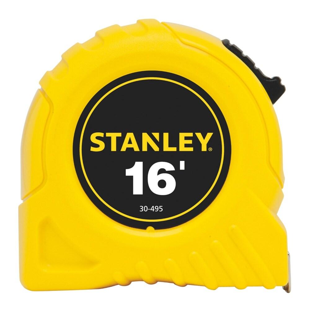 Stanley 30-495 Top Lock Tape Rule, 3/4 x 16, Yellow
