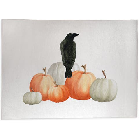 THE CROW Outdoor Mat By Kavka Designs