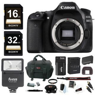 Canon EOS 80D DSLR Camera (Body) w/ Slave Flash & 48GB Bundle|https://ak1.ostkcdn.com/images/products/is/images/direct/c28df81df9eddfd72c15e65d78d725bdb566d619/Canon-EOS-80D-DSLR-Camera-%28Body%29-w--Slave-Flash-%26-48GB-Bundle.jpg?impolicy=medium