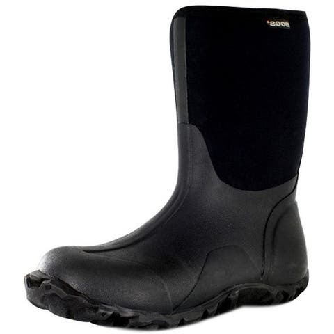 """Bogs Outdoor Boots Mens 10"""" Classic Mid Rubber Farm Waterproof"""