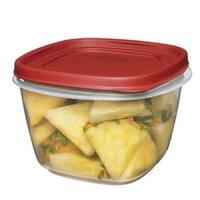 Rubbermaid 1777088 Food Storage Container, 7 Cup, Clear Base