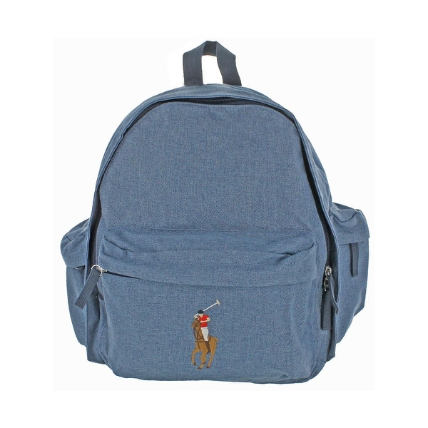 Shop Polo Ralph Lauren Large Pony Kid s Backpack Kids Canvas - Free ... 9408cf9fed42f