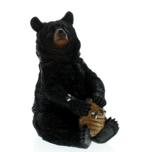 Sitting Bear with Beehive
