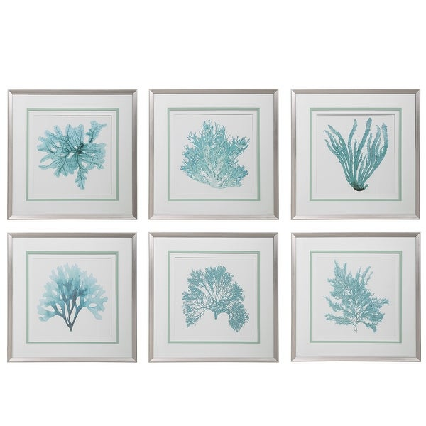 Uttermost Coral Reef Framed Prints (Set of 6). Opens flyout.