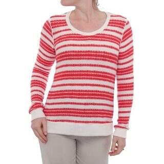 Splendid Long Sleeve Crew Neck Sweater Women Regular Sweater