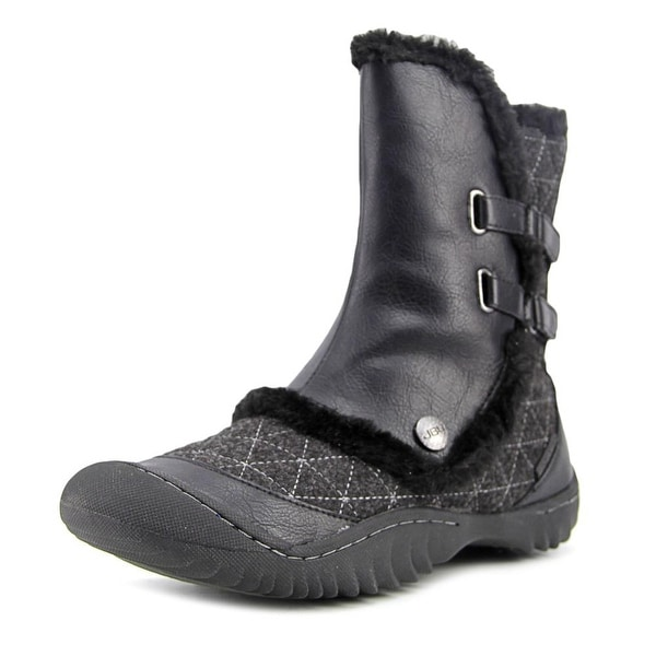 JBU by Jambu Iceburg Women Round Toe Canvas Winter Boot