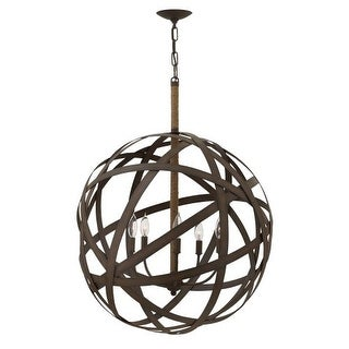 Fredrick Ramond FR40705 5 Light 1 Tier Chandelier from the Carson Collection