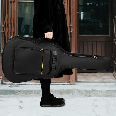 41 Inch Padded Acoustic Guitar Bag Black - 41inch