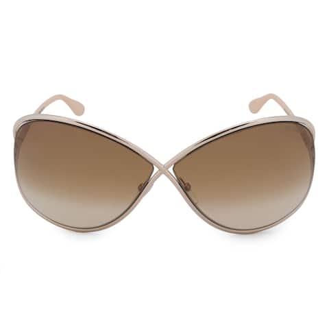 6f81fe0e77fd Tom Ford Miranda Butterfly Sunglasses FT0130 28F 68