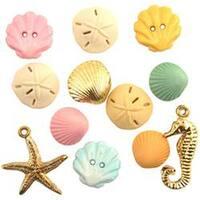 Beach Treasures - Button Theme Pack