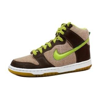 Nike Grade-School Dunk High Beach/Bright Cactus-Umber 308319-231