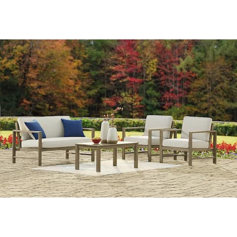 Fynnegan 4-Piece Outdoor Sofa Set