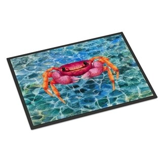 Carolines Treasures BB8526MAT Crab Indoor or Outdoor Mat - 18 x 27 in.