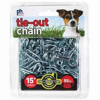 Prevue Pet 2.5mm x 15 Tie Out Chain w/Bolt' - 2114