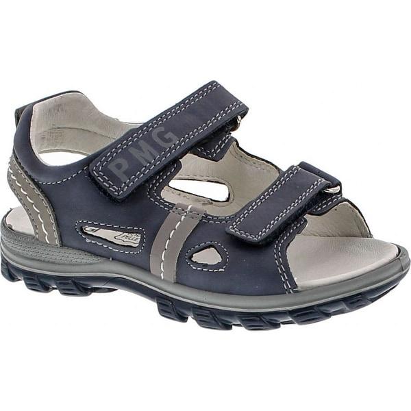 Primigi Boys 7645 Double Strap Adjustable Leather European Sandals